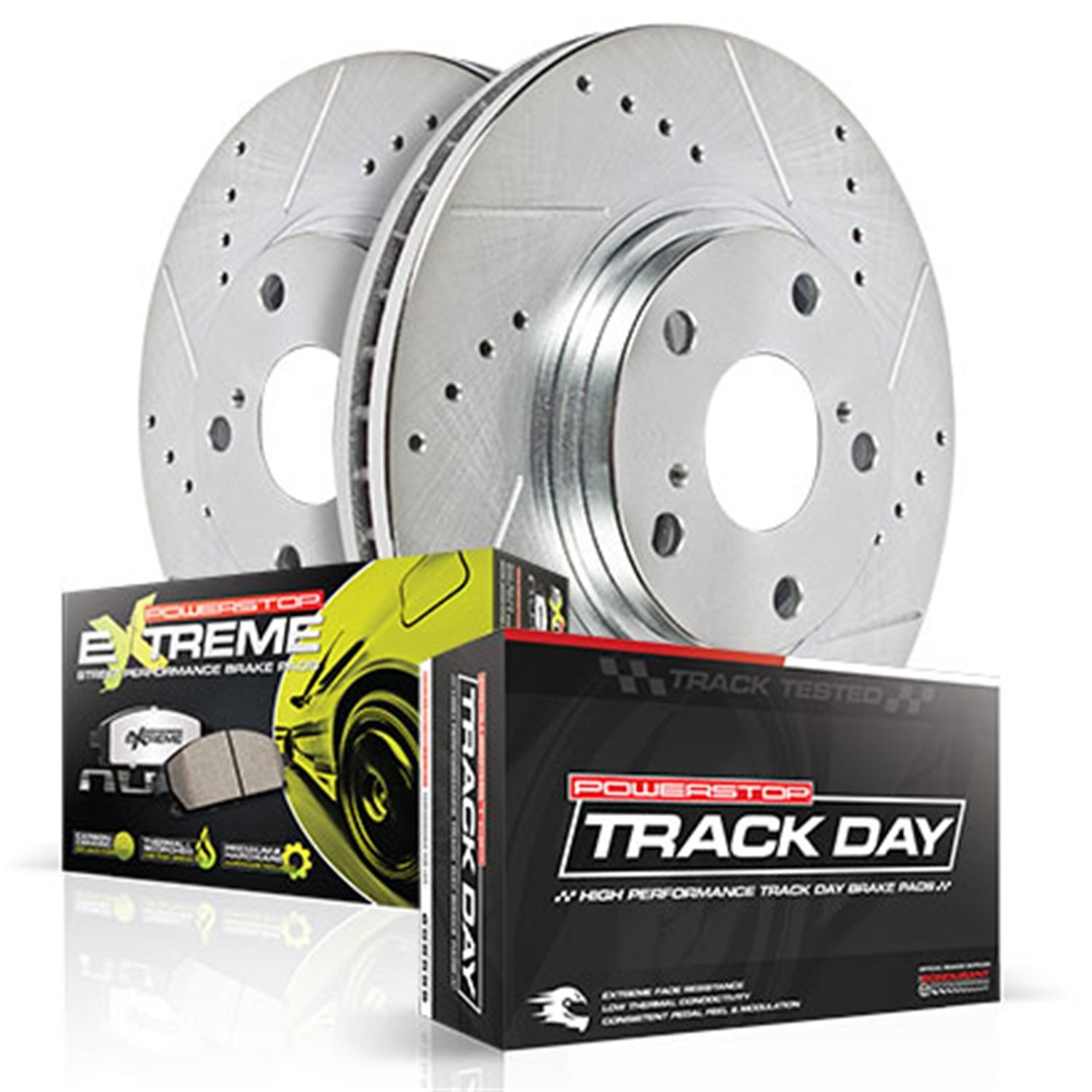 Power Stop TDPK1384 Track Day Plus Brake Kit