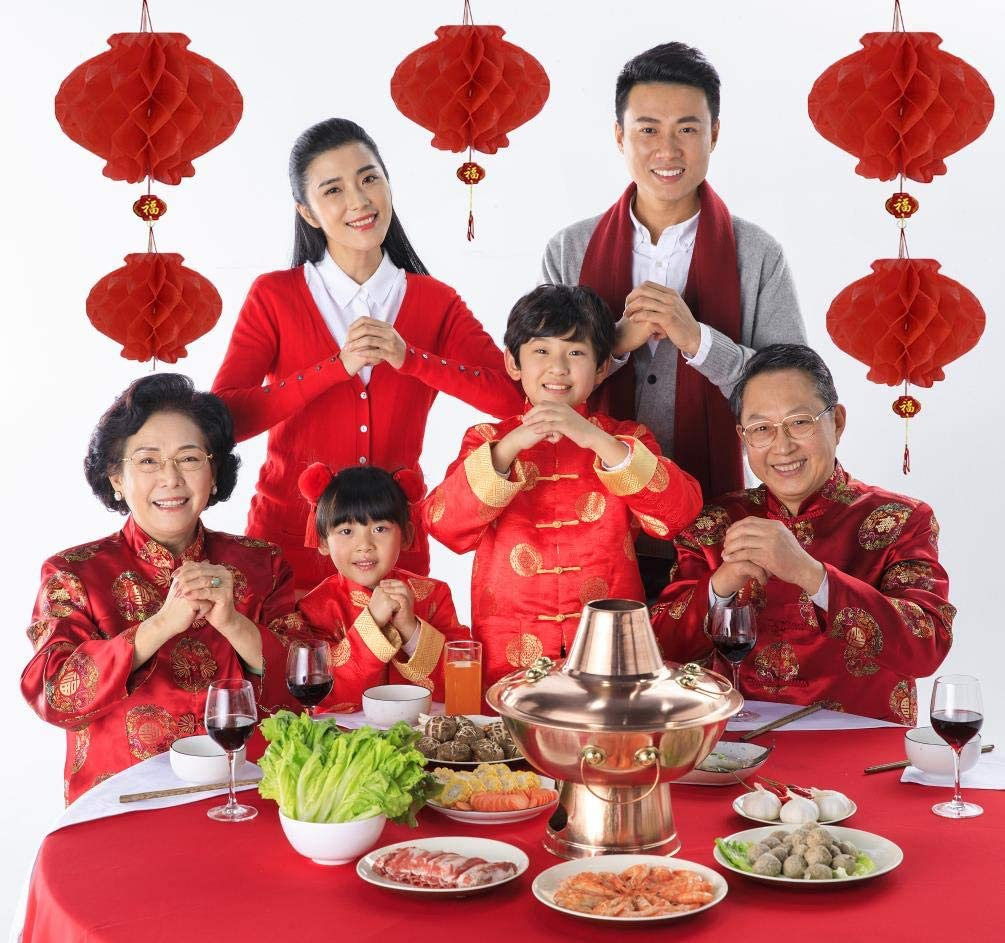 6 Styles 3.5 x 6.8 Inches Aniparty 48 Pieces Chinese Red Envelopes Hongbao 2020 Year Chinese Mouse Lucky Money Pockets for Party Wedding and Chinese New Year