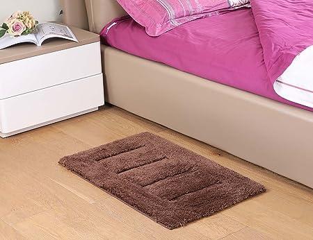 Kingmia Soft Fluffy Anti Skid Shaggy Area Rug Living Room Carpets