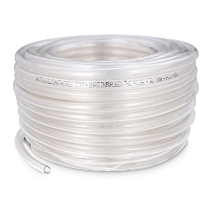 Genuine 30m Coil Pvc Reinforced Tubing Clear 12 mm Id Pipe Accessories Tools