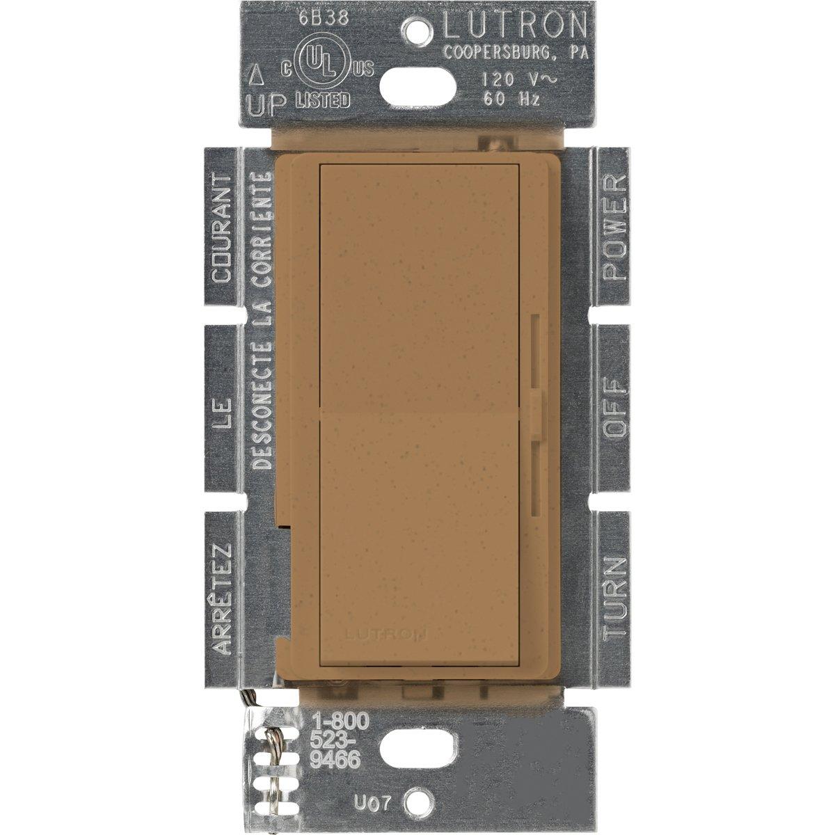 Lutron DVSC-103P-TC Diva 1000-watt 3-Way Dimmer, Terracotta