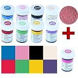 Wilton Icing Colors Lebensmittelfarben-Set 8+1, 8 Farben + Rose