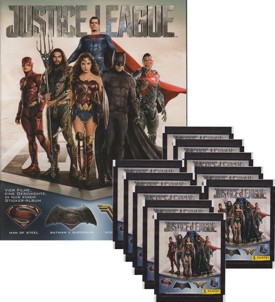 Unbekannt Panini/ /Pegatinas coleccionables /Justice League/ Bolsas, Display, /álbum