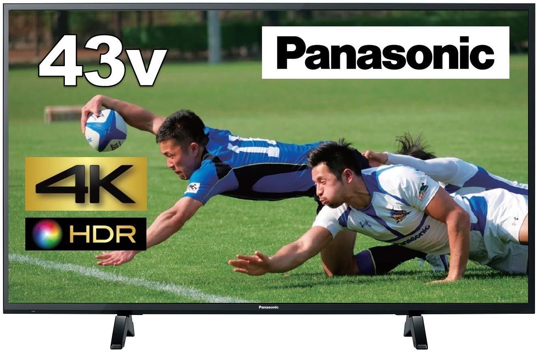 Panasonicのおすすめテレビ|4K 液晶テレビ ビエラ TH-43FX500