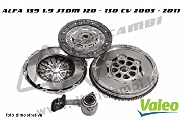 Kit Embrague Volante Almohadilla Valeo kv0031 - 836011 - 826705 - 804567: Amazon.es: Coche y moto