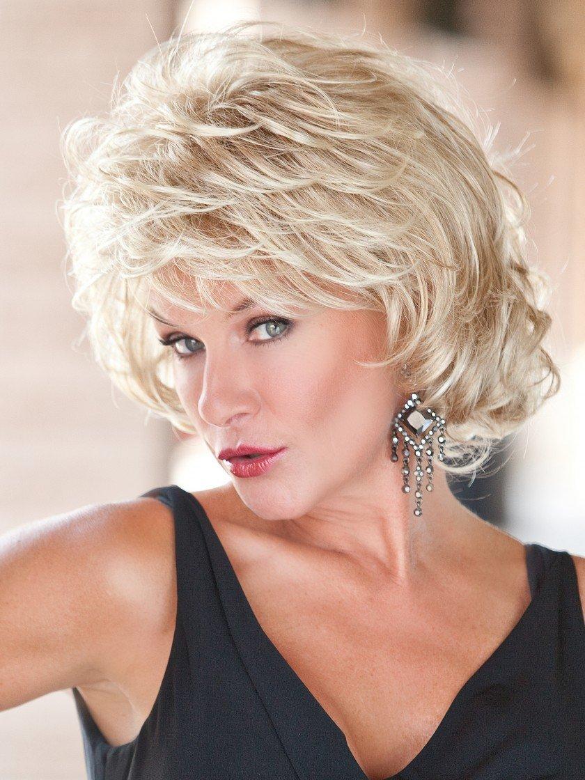 Hairdo Gabor Alluring Curly ShagComfort Cap Wig, Medium Blonde