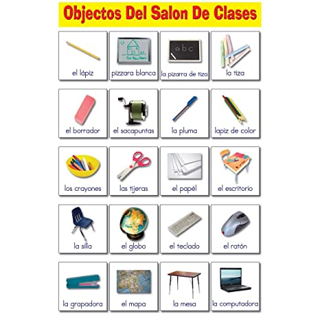 Amazon.com: Ring Cards Spanish Classroom Educational ...