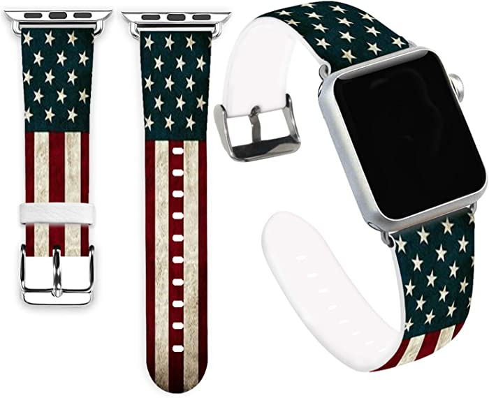 Top 10 Apple Watch Bands 42Mm American Flag