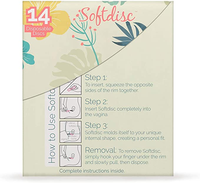 Instead Softcups 12 Hour Feminine Protection,14 Count by EvoFem