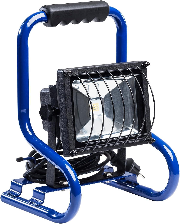 230 V as Schwabe 46926 Baustrahler CHIP-LED-Strahler 20W tragbar mit 2m Kabel und Stecker 20 W