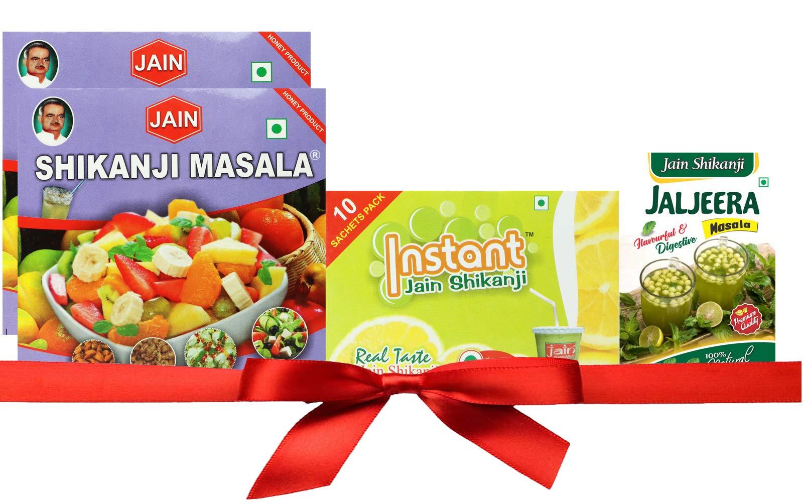 Amazon price history for 2 JAIN SHIKANJI Masala, 1 Instant JAIN SHIKANJI, 1 Jain JALJEERA