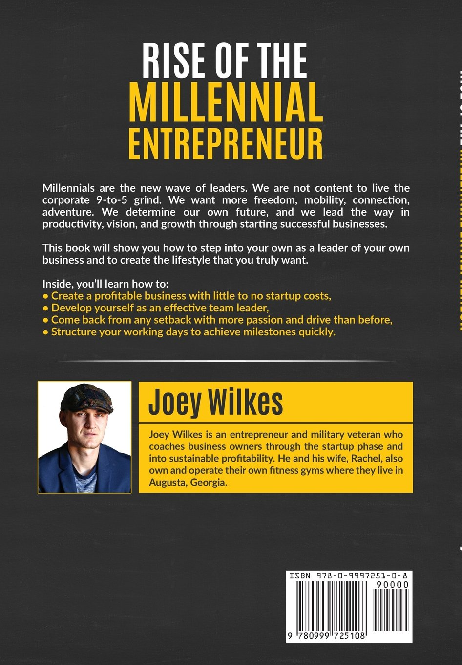 Rise Of The Millennial Entrepreneur: How The New Wave Of Entrepreneurs  Harnesses Productivity, Vision, And Growth To Create Successful Businesses:  Joey ...