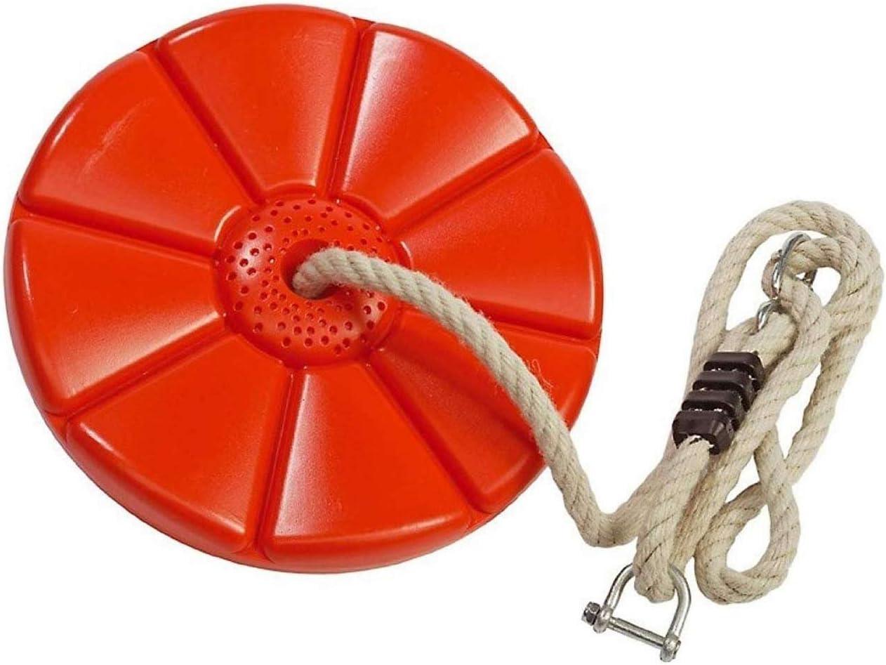 Gartenpirat Columpio para tirolnia Disco, plástico, niños, Exterior: Amazon.es: Juguetes y juegos