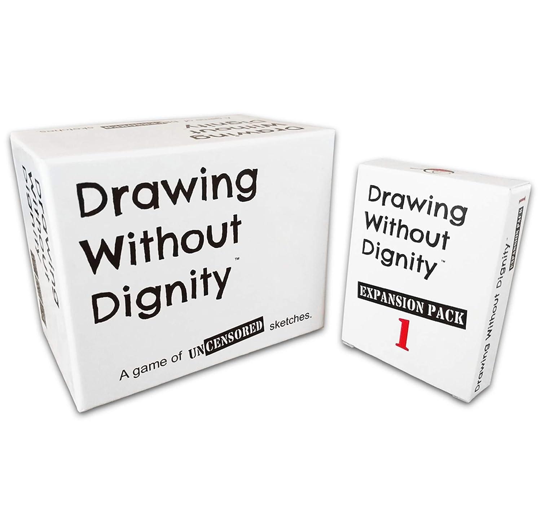 Amazon.com: Dibujo sin Dignidad Combo Pack: Juego de fiesta ...