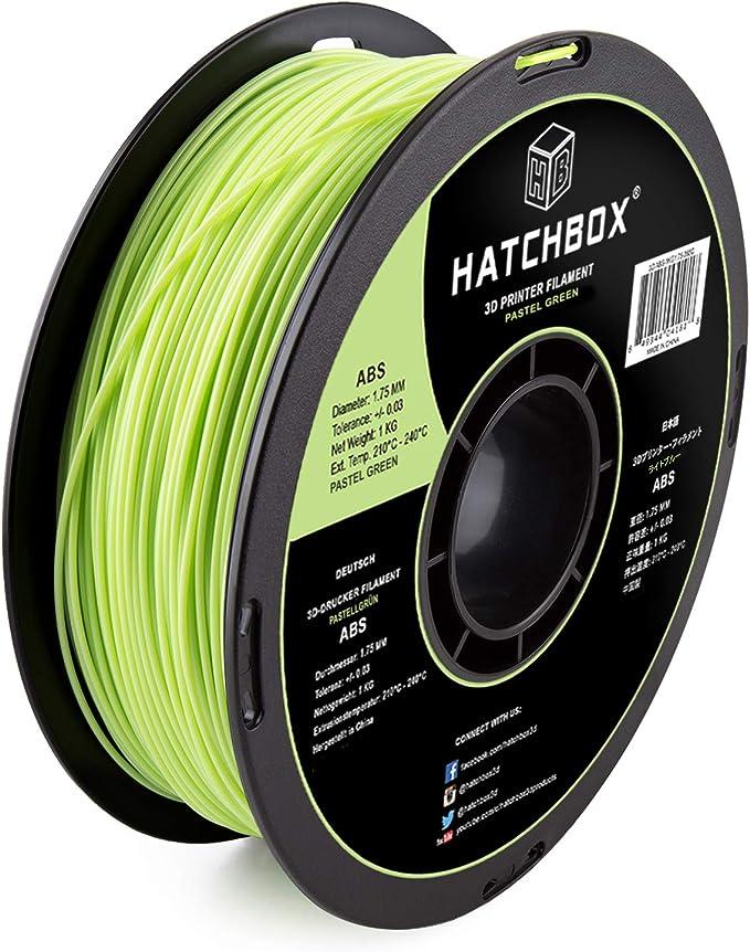 Hatchbox 1 75 Mm Grünes 365 C Abs Filament Für 3d Drucker 1 Kg Spule Maßgenauigkeit 0 05 Mm Küche Haushalt