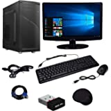 Wolux WPC-1564 Desktop PC (Intel Core 2 Duo 3 GHZ /4GB RAM /500 GB / 15.6 inch.LED / WIFI)