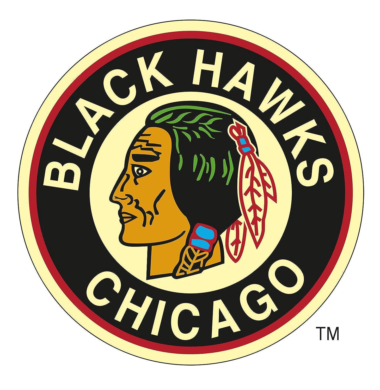 Amazon.com : Chicago Blackhawks Classic Logo Wall Decal 38 x 38in ...