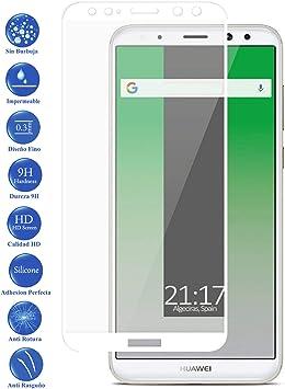 Todotumovil Protector de Pantalla Huawei Mate 10 Lite Color Blanco ...