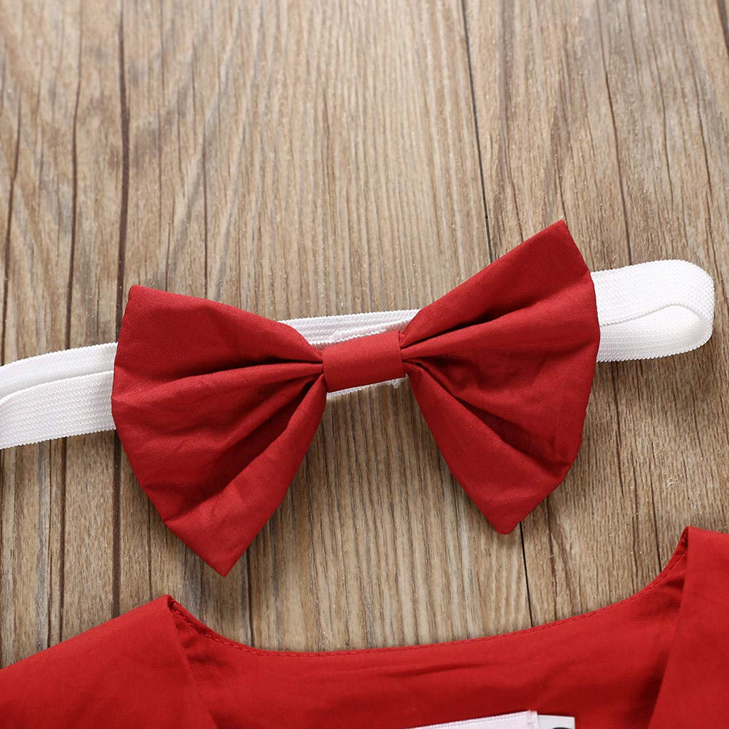 Toddler Kid Baby Dress Girl Short Sleeve Solid Color Tie Side Button Down Skirt Princess Clothing
