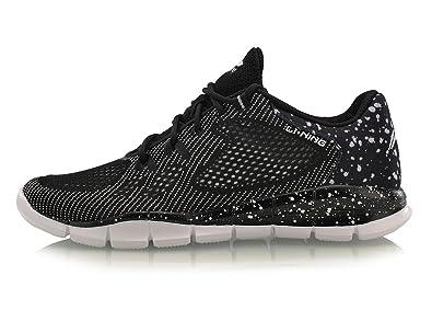LI-NING Men s Quick XT Light Training Running Shoes Lining Breathable  Fabric Comfort Sneakers Black 23d04fcdd