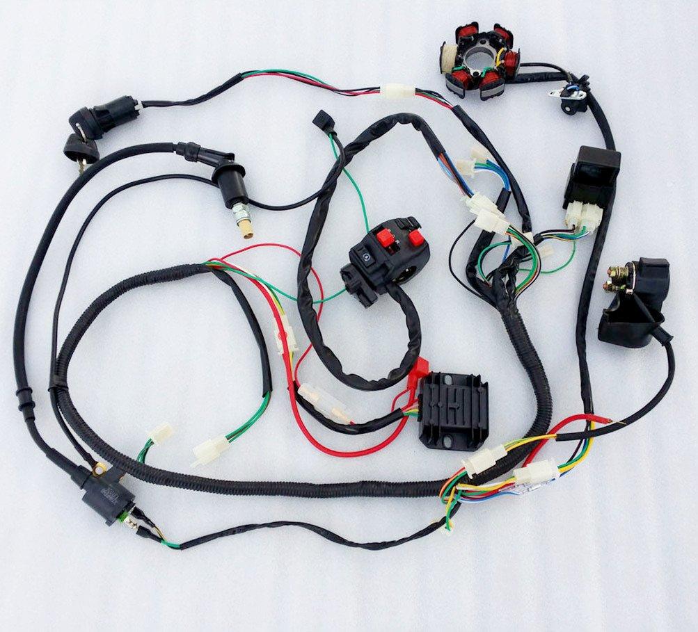 Yerf Dog Wiring Harness Amazon Electrical Diagram 150cc Engine Com Jcmoto Loom Kit Cdi Rectifier Key Rh Gy6 Schematic