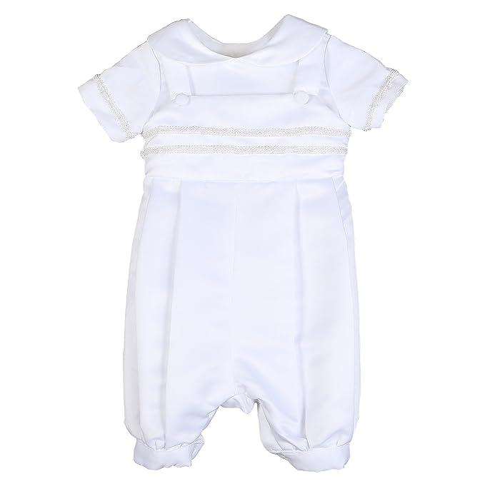 Amazon.com: Nimble bebé recién nacido niño bautismo bautizo ...