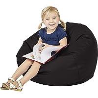 Asiento tipo puf para niños, suave y cómodo