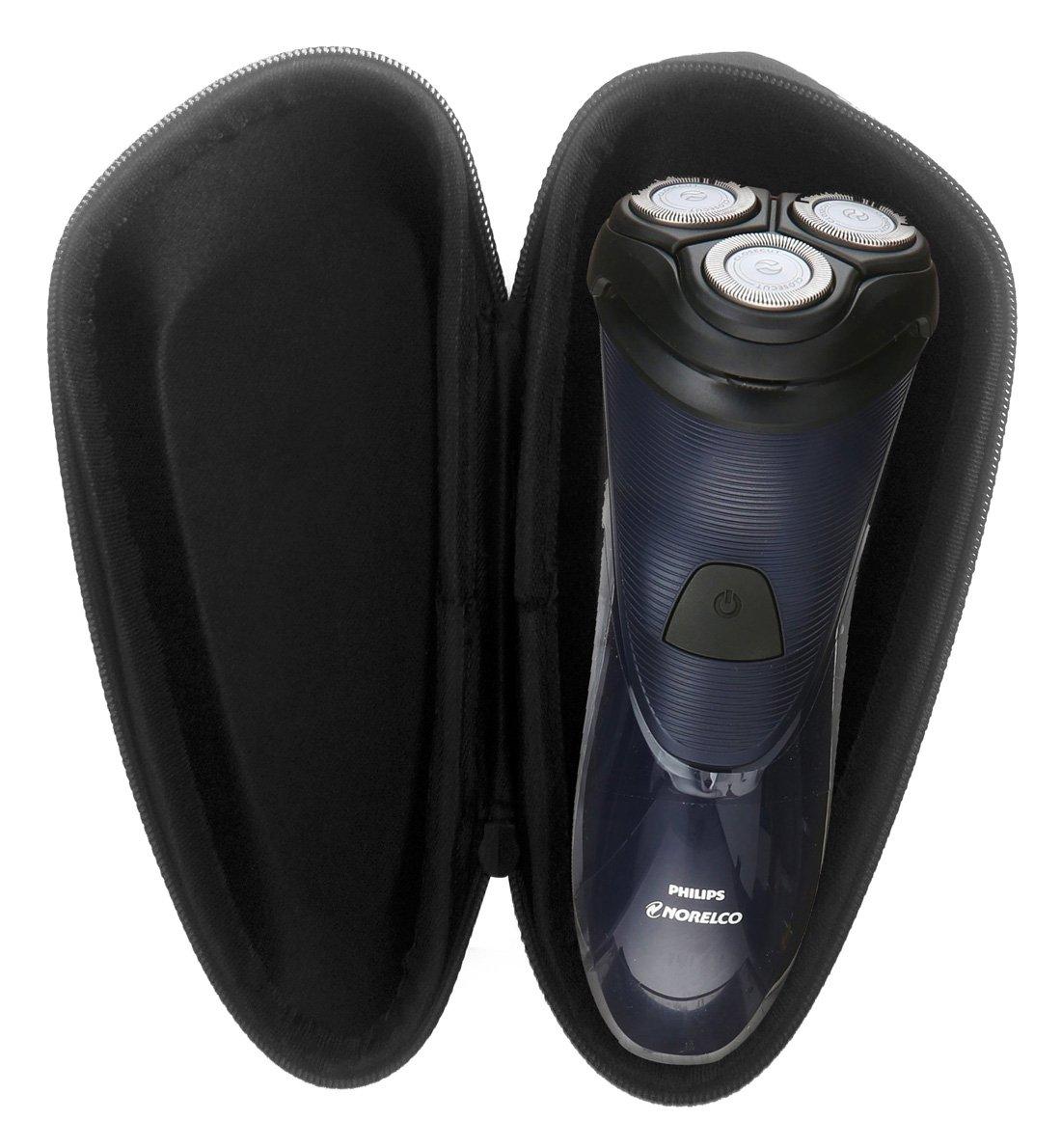 FitSand ( TM )ジッパーストレージEva Carry Travel保護ハードケースボックスバッグfor Philips Norelco電気シェーバー1100、s1150 / 81   B01HZSBSF0