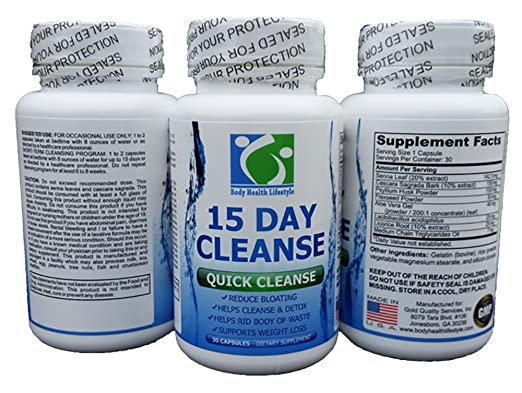 Amazon.com: BHL:15 Day Cleanse: Constipation Relief As Well As Fatigue, Headaches, Weight Gain, and Low Energy. We Have A One A Day System To Rid You Of ...