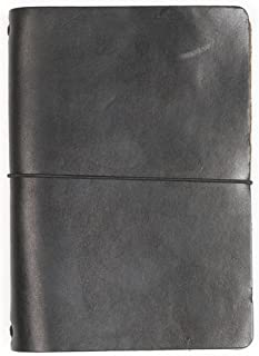 product image for Expedition Point Five Leather Notebook Black