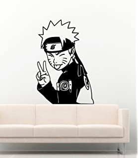 Amazon.com: Anime calcomanía decorativo para pared para ...