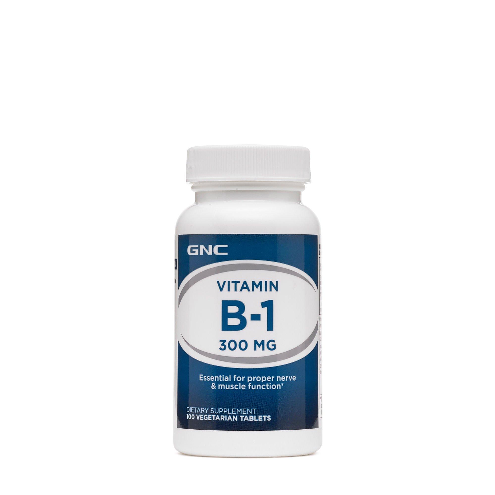 GNC Vitamin B-1 300mg, 100 Tablets