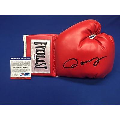 6e886e994 Oscar De La Hoya Signed Red Everlast Boxing Glove  Golden Boy AA95847 - PSA