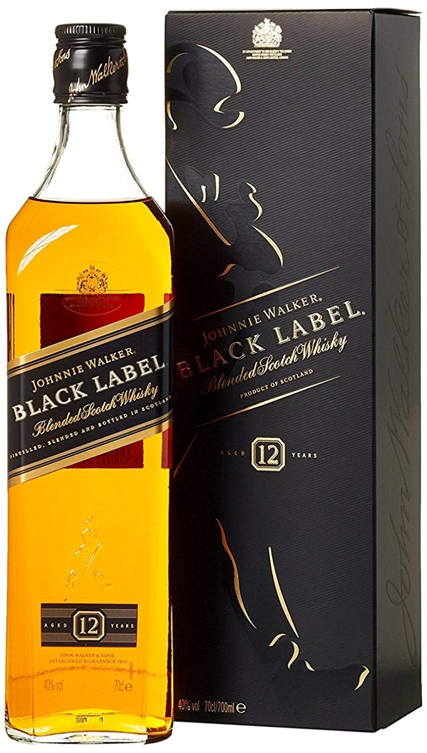 Black Label Price >> Johnnie Walker Black Label Blended Scotch Whisky 70cl