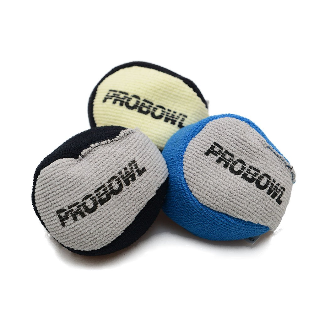 Pro Bowl Bowling Microfaser Grip Ball Pro Bowl Microfiber Grip Ball blau/grau