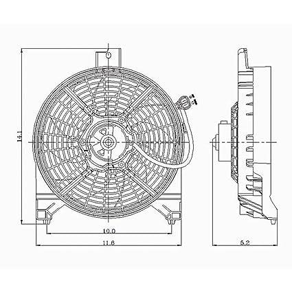 Crash partes Plus ventilador frontal de condensador para Nissan ...