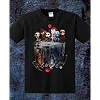 Men/'s Pennywise IT Reflection Short SLeeve Black T-Shirt For Fan S-5XL
