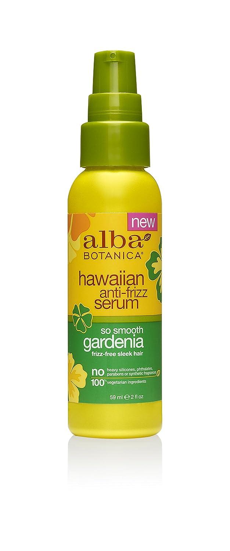 Alba Botanica Go Smooth Gardenia Hawaiian Anti-Frizz Serum, 2 oz.