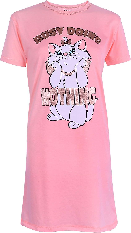 Disney : Aristocats Camicia da Notte Color Albicocca gattina Minou