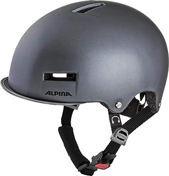 Alpina GRUNERLOKKA Casco de Bicicleta, Unisex-Adult, Titanium, 52 ...