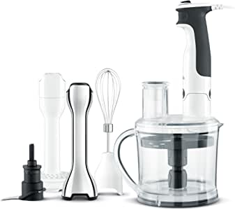 Breville The All in One Stick Mixer, Brushed Stainless Steel BSB530BSS