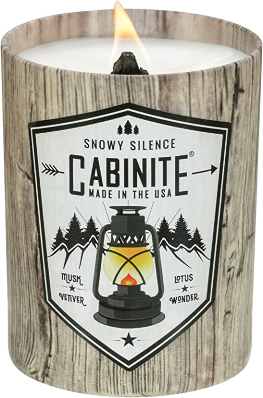 Cabinite Snowy Silence Scented Candle