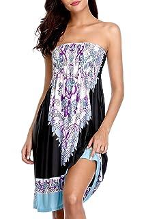 9b2a7c5f86 Sociala Women's Swimsuit Cover Ups Summer Beach Dresses Swim Coverup Beach  Cover