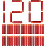 Little Valentine 120 Pcs Mega Dart Refill Pack for N-Strike Mega Series Blasters