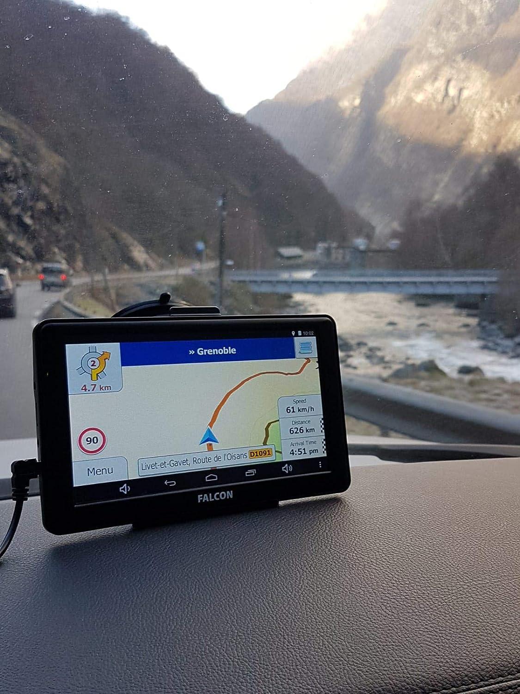 Falcon Truck Sat Nav 7 GPS UK /& Europe Maps with lifetime updates HGV LGV Lorry