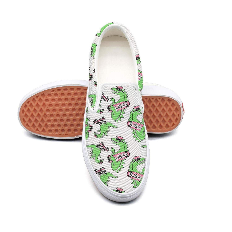 Kids dinosaur new york van-osaur usa green Fashion Lightweight Mesh Walking Casual Shoes