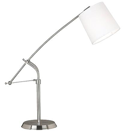 Kenroy home 20813bs reeler adjustable table lamp brushed steel kenroy home 20813bs reeler adjustable table lamp brushed steel aloadofball Images