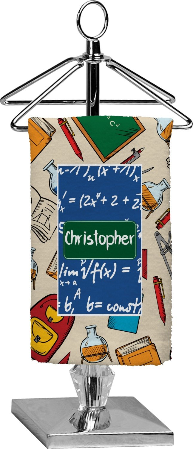 RNK Shops Math Lesson Finger Tip Towel - Full Print (Personalized)