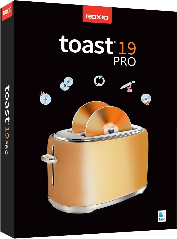 Roxio Toast 19 Pro | CD, DVD & Blu-ray Burner for Mac | Disc Burning, File Conversion, Multimedia Editing Suite [Mac Disc]