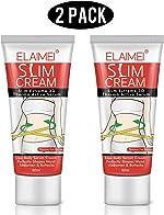 Hot Cream 2Pcs,Fat Burner Sweat Cream - Slimming Cream for Belly,Waist